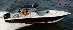 2012 - Fountain Boats - 34 Sportfish CC Open Bow