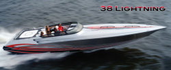 2013 - Fountain Boats - 38 Lightning