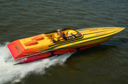 Fountain Boats 42 Lightning High Performance Boat
