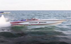 Fountain Boats 42 Poker Run High Performance Boat