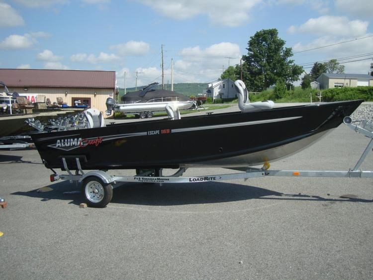 Alumacraft Boats For Sale >> 2018 Alumacraft Boats Escape 165 Tiller Spring Grove Pa For Sale