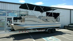 2018 Qwest LS 824 Lanai Sport Triple Tube with 250hp
