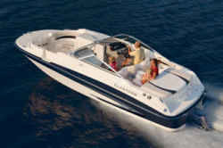 Glastron Boats DX215 Merc Deck Boat