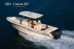 2013 - Grady-White Boats - Canyon 283