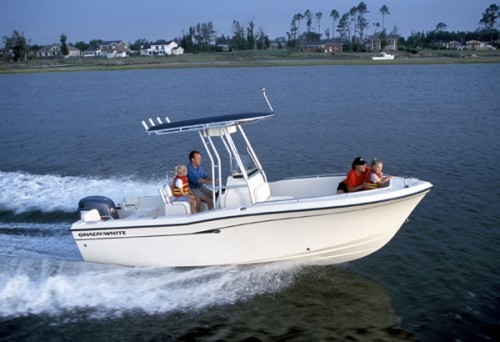 Polar Kraft Boats >> Research Grady-White Boats 209 Escape Center Console Boat ...