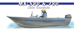 2014 - Gregor Boats - MX 580 SC