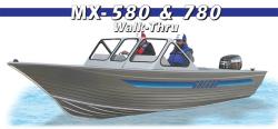 Gregor Boats - MX 580 Walk-Thru