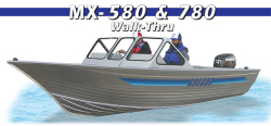2015 - Gregor Boats - MX 580 Walk-Thru