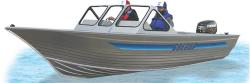 Gregor Boats MX 580 Walk-Thru Utility Boat