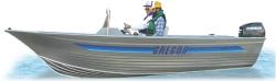 Gregor Boats MX 780 SC Sport Utility Boat