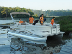 2010 - Harris FloteBote - Sunliner 240