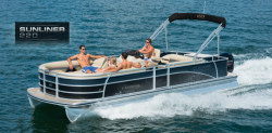 2014 - Harris FloteBote - Sunliner 220