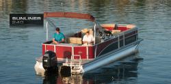 2014 - Harris FloteBote - Sunliner 240