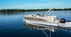 2015 - Harris Boats - Sunliner 220