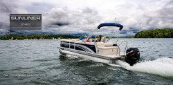 2018 - Harris FloteBote - Sunliner 240