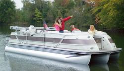 Flotebote-Flote Dek Crowne 230 Pontoon Boat