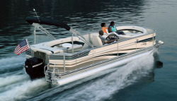 Flotebote-Flote Dek 250 Pontoon Boat