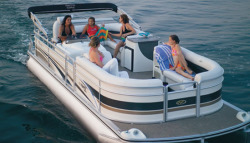 Harris-Kayot Boats 240 IO Pontoon Boat