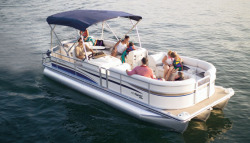 Flotebote-Flote Dek 240 Pontoon Boat