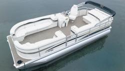 Flotebote-Flote Dek Sunliner 220IO Pontoon Boat