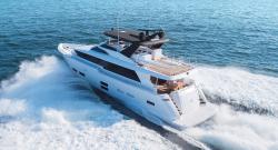 2018 - Hatteras Yachts - M75 Panacera