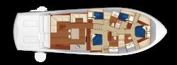 2019 - Hatteras Yachts - GT65 Carolina