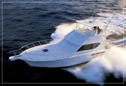 Hatteras Yachts 50 Convertible Pontoon Boat