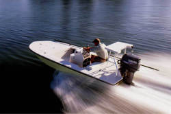 Hewes Boats Tailfisher 17 Center Console Boat