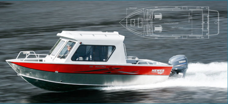 Research 2012 - Hewescraft - 220 Ocean Pro ET on iboats com