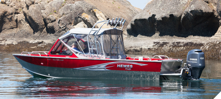 Research 2016 - Hewescraft - 210 Sea Runner ET on iboats com