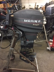 25 HP MARINER WITH CONTROLS