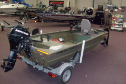 2008 - Tracker Boats - Grizzly 1448 AW Jon