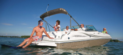 2012 - Hurricane Deck Boats - SunDeck SD 217 IO