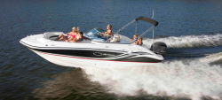 2012 - Hurricane Deck Boats - SunDeck SD 2200 OB