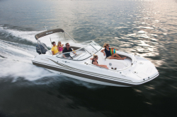 2014 - Hurricane Deck Boats - SunDeck SD 237 OB