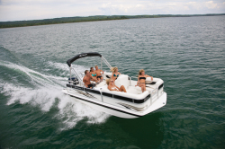 2014 - Hurricane Deck Boats - FunDeck FD 196 OB