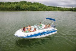 2014 - Hurricane Deck Boats - SD 2200 DC OB