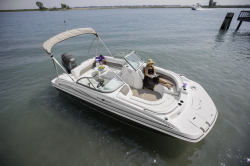 2015 - Hurricane Deck Boats - SD 187 OB