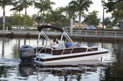 2018 - Hurricane Deck Boats - FD 198 OB