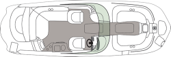 2018 - Hurricane Deck Boats - SD 2600 IO