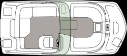 2020 - Hurricane Deck Boats - SD 187 IO