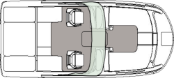 2020 - Hurricane Deck Boats - SD 217 IO