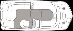 2020 - Hurricane Deck Boats - SS 201 IO