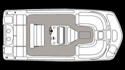 2021 - Hurricane Deck Boats - CC 21 OB