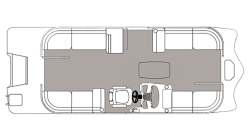 2021 - Hurricane Deck Boats - FD 236 SB OB
