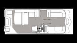 2021 - Hurricane Deck Boats - FD 236 SFL OB