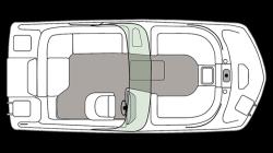 2021 - Hurricane Deck Boats - SD 187 IO