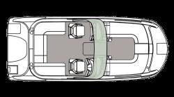 2021 - Hurricane Deck Boats - SD 217 IO