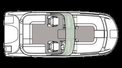 2021 - Hurricane Deck Boats - SD 217 OB