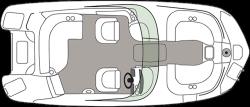 2021 - Hurricane Deck Boats - SD 2200 DC OB